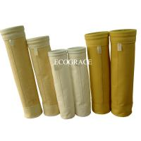 High Temperature Air Fabric Filter Bags For Industrial And Cement Plant Manufactures