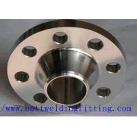 Forged Nickel Alloy Weld Neck Flanges CuNi70/30 UNS C71500 , CuNi90/10 UNS C7060 Manufactures