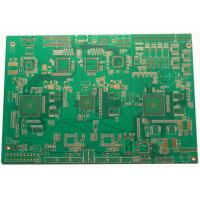 1-30 Layers FR4 Multilayer PCB Glass Reinforced Hydrocarbon Amplifier ENIG Silver /  Gold White Legend Manufactures