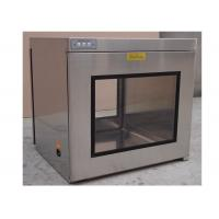 Hepa Filter H13 / H14 Static Cleanroom Pass Box / Cleanroom Pass Through Chambers Manufactures