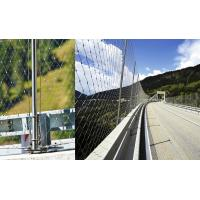Bridge Balustrade Stainless Steel Rope Mesh, Cable Mesh NettingFerrule / Knotted Manufactures