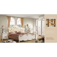 China Mdf bedroom sets victorian style furniture queen bed frame 6033 on sale