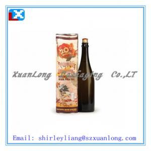 China round cardbaord wine tube wine box paper tube on sale