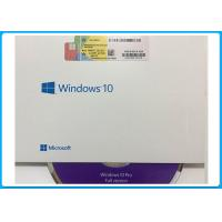 32bit 64bit  Windows 10 Professional Product Key Codes OEM Key DVD Pack Manufactures