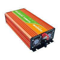 China Low Noise High Frequency Pure Sine Wave Inverter , Orange True Sine Wave Inverter on sale