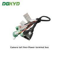 Buy cheap Surveillance Cameras Ethernet Cable Camera Tail Line With Power Terminal Bus from wholesalers