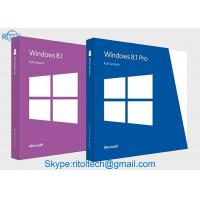 French / Japanese Version Windows 8.1 Retail Box , Microsoft Windows 8.1 Pro 32 64 Bit  Manufactures