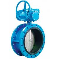 AWWA C504 Resilient Sealing Triple Offset Butterfly Valve Ductile Iron DN200 Manufactures