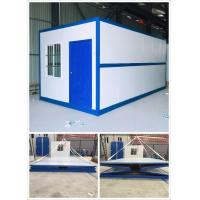 Fire Proof Prefabricated Container House Foldable Container House Colorful Painting Manufactures