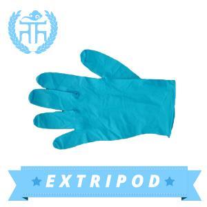 Latex free M3.5g blue FDA nitrile examination gloves Manufactures