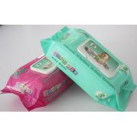 baby wipes,100pcs with plastic lid,gentle fragrance and soft touching Manufactures