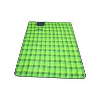 1.5*2*0.05m Green Color Outdoor Picnic Set With Fleece Material Manufactures