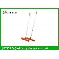 JOYPLUS Home Rubber Sweeper Broom , Rubber Push Broom With Handle 120cm Manufactures