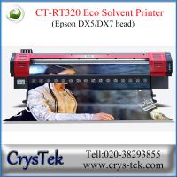 CrysTek CT-RT320 inkjet printer with Epson dx5 or dx7  printhead, 1440dpi, vinly, flex, soft-flim printing Manufactures
