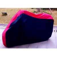 100% Waterproof Motorcycle Cover For Harley Davidson Black + Red Manufactures