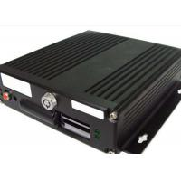 G - Sensor GPS HDD Mobile DVR  4 Channel  With 4 - Ch Audio Input For Bus Manufactures