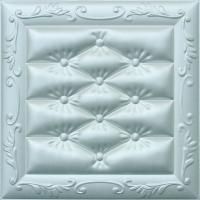 Carved Leather Decorative 3D Wall Panels Fire Resistant Embossed Manufactures