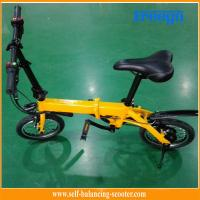 Foldable design 14 inch Tire Electric Boost Bike  with 350W  motor Portable Manufactures