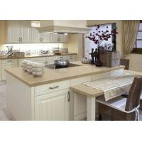 Multicolor Marble Island Countertop For House Kitchen / Villa Manufactures