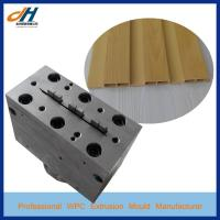WPC Wood Plastic Great Wall Panel Board Mold Manufactures