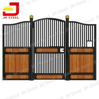 Diy Sliding Horse Stall Fronts Door Bamboo Galvanized Large Horse Stable Manufactures