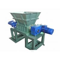 China Industrial Grade Foam Shredder Machine / Waste Recycling Equipment 350×2 Reducer on sale