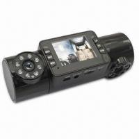 Car Black Box, 180 Rotary 120 High Resolution, Wide Angle Dual Lens Manufactures