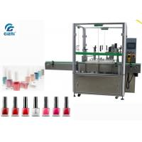 High Speed  Nail Polish Filling And Capping Machine 2 Nozzles For Small Dose Manufactures
