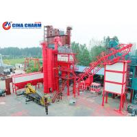 100 - 120 Ton Stationary Asphalt Concrete Plant , Double Mobile Asphalt Drum Mix Plant Manufactures