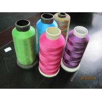 Colorful Embroidery Thread , Dyeing Embroidery Sewing Thread Manufactures