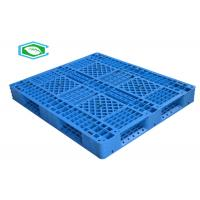 100% Virgin Hdpe Anti - Skid Rackable Plastic Pallets With Six Runners Manufactures