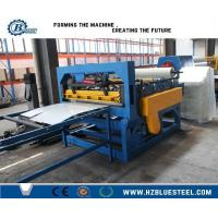 Galvznized Roof Panel Metal Slitting Line For Cold - Rolled Metal Plates Manufactures