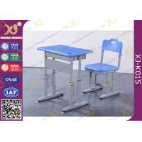 Metal Student Modern Single Seats College Classroom Furniture ISO9001 ISO14001 SGS Manufactures