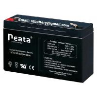 lead acid 14AH 6v rechargeable battery for emergency lighting Manufactures