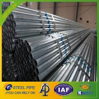 hot dipped galvanized steel pipe,BS1387 steel tube,220g/m2 zinc coating steel pipe Manufactures