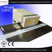 China LED MCPCB Pre Scoring Depaneling V Groove PCB Separator for LED Strip on sale