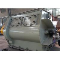 Double Shaft Paddle Powder Mixer Machine Low Energy Consumption 500 G/Cm3 Manufactures