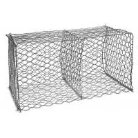 Double Twisted Type Stone Filled Gabion Basket Hot Dipped Galvanized Manufactures