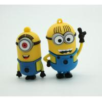 China Personalised Cartoon Soft PVC USB Flash Pen Drive 16 Gb Pen Drive USB 2.0 / USB 3.0 on sale