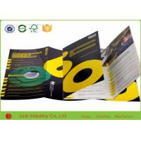 China Eco Friendly Business Brochure Printing , 200Gsm Coated Paper Color Catalog Printing on sale