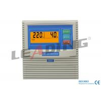 Pressure Control Single Phase Pump Control Panel With Manual / Auto Control Method Manufactures
