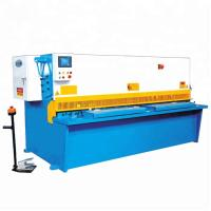 China QC12Y Metal Shearing Machine / CNC Metal Plate Hydraulic Cutting Machinery on sale