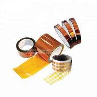Antistatic Kapton Polyimide Tape Silicone Thermal Insulation For PCB Printing Protection Manufactures