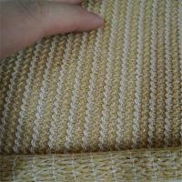100% Virgin HDPE Breathable Mesh Fabric , Warp Knitted Mesh Screen Fabric Manufactures