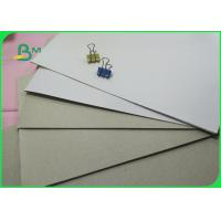 6-9% Moisture One Side Coated White Duplex Board With Grey Back 400gsm In Sheet Manufactures