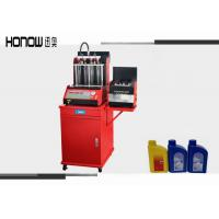 Automatic Gasoline Injector Tester Diagnostic With Ultrasonic Bath Manufactures