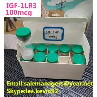 China Igtropin IGF LR3 -1 100mcg Human Growth Peptides HGH White Lyophilized Powder on sale