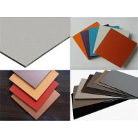 Outdoor Aluminum Composite Panel For Interior and Exterior Walls , Ceilings Decoration Manufactures