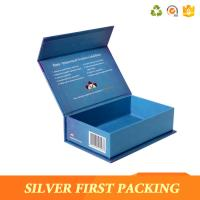 Silver First custom high-top book shape box cardboard flip top box buy from China Manufactures