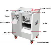 Commercial Stainless Steel Meat Slicer , Meat Cutting Machine For Restaurant Manufactures